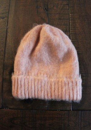 Asos Cappello a maglia rosa pallido