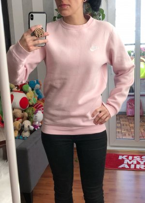 Rosa Nike Pullover XS oversized