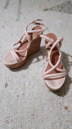 Rosa nude Schuhe