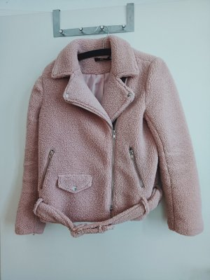 Missguided Teddy Jacket pink