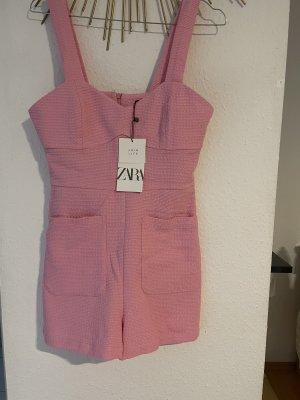 Rosa Pink jumpsuit Zara S 36 Neu