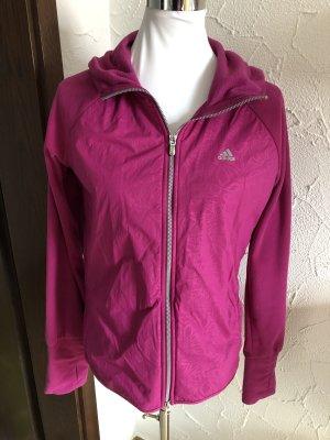 rosa / pinke Adidas climawarm Jacke / Fleecejacke - Gr. 40