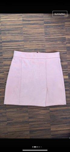 Pull & Bear Minigonna rosa chiaro