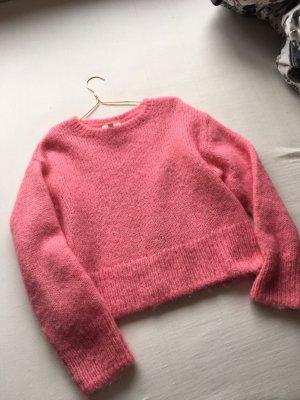 Wool-Blend H&M Wollen trui roze
