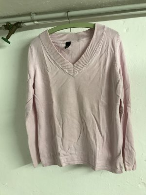 V-Neck Sweater light pink