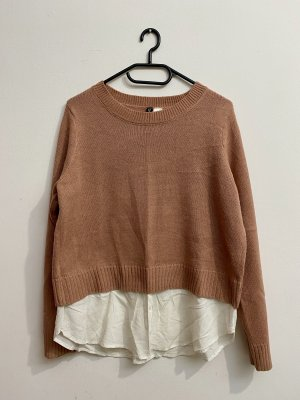 H&M Divided Knitted Sweater multicolored