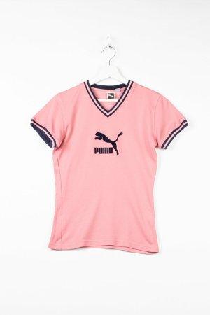 Rosa Puma Damensportshirt in S