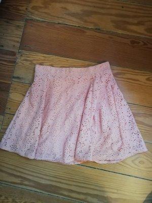 FB Sister Spódnica midi jasny różowy-różowy