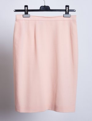 Karl Lagerfeld Minigonna rosa pallido Lana