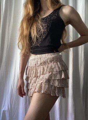 Fishbone Mini rok veelkleurig