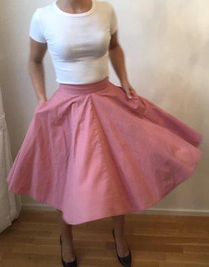 Mint&berry High Waist Skirt pink