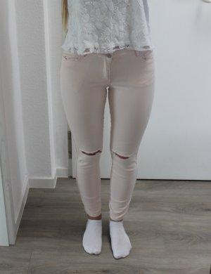 Vila Drainpipe Trousers pink-light pink