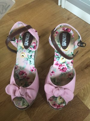 holly's High Heel Sandal pink