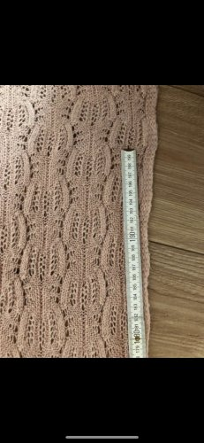 H&M Knitted Scarf light pink-pink