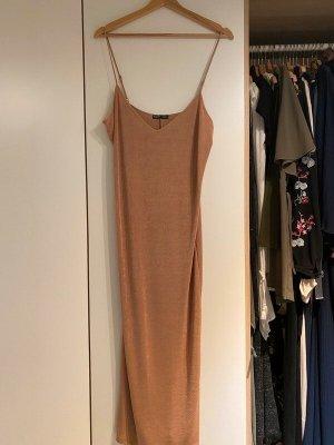 Rosa schimmerndes Kleid Zara Grösse M