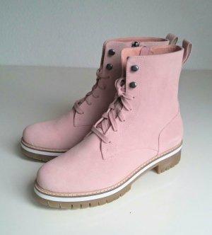 rosa Schnürstiefel von Pier One