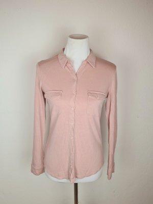 Cols de blouses rosé