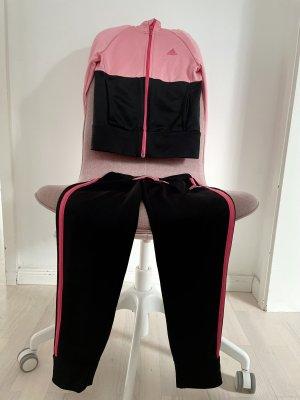 Adidas Spodnie sportowe czarny-jasny różowy