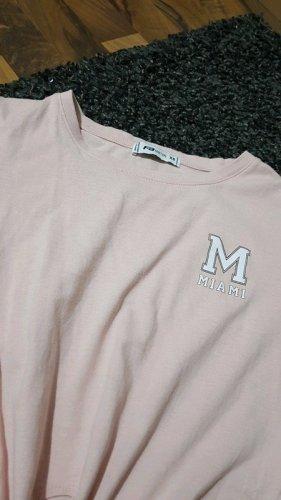 New Yorker T-shirt rosa pallido-rosa chiaro