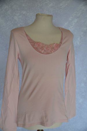 rosa Shirt in Double-Layer-Optik