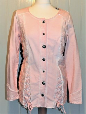 Rosa Shirt Jacke von Linea Tesini NEU in Größe 36