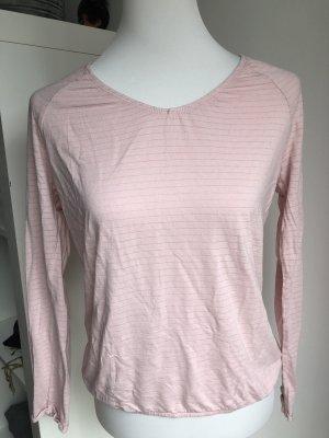 Rosa Shirt mit silber Größe 38