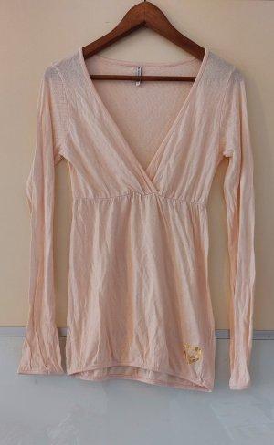 Fishbone Camicia a tunica rosa pallido