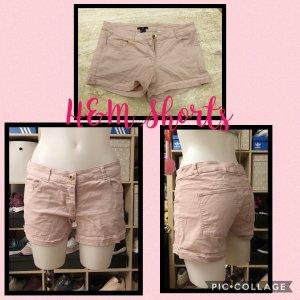H&M Denim Shorts light pink