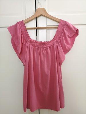 Esprit Koszula typu carmen różowy
