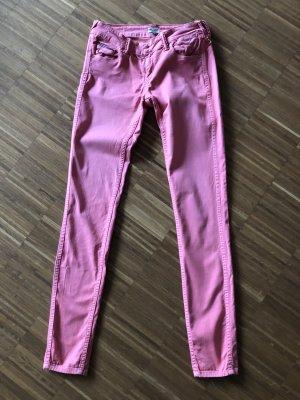 Rosa Skinny Jeans von Tommy Hilfiger