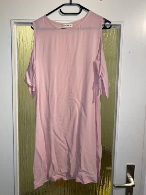 24Colours Vestido de manga corta rosa claro
