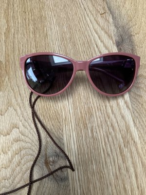 Unbekannte Marke Retro Glasses rose-gold-coloured-silver-colored