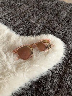 Tally Weijl Okulary w kolorze różowego złota