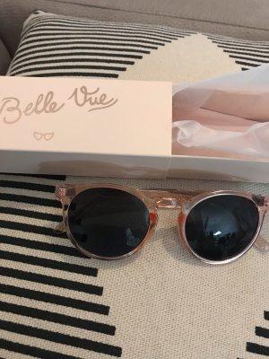my little box Lunettes de soleil rondes rose clair