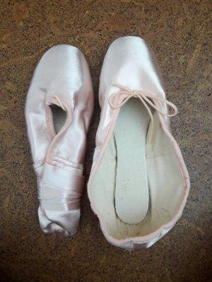 Gamba Ballerina's met kant rosé-lichtroze