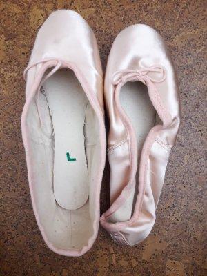 Gamba Ballerina's met kant rosé-roze
