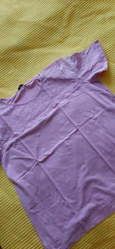rosa Spitzenshirt
