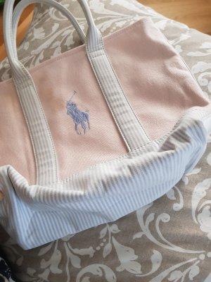 Rosa Stoff Handtasche