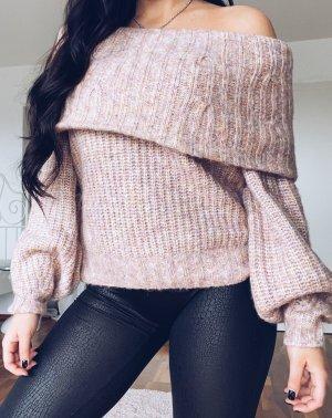 rosa Strickpullover