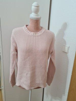 rosa Strickpullover von Gina Tricot
