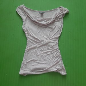 H&M Koszula z odcięciem pod biustem stary róż