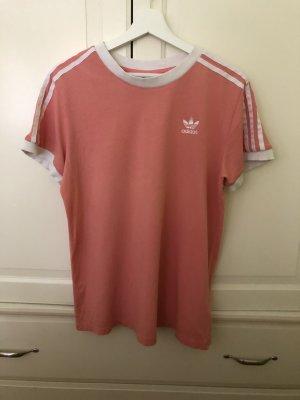 Adidas T-Shirt pink-apricot cotton