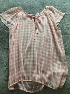 C&A Camicia a tunica rosa chiaro-bianco