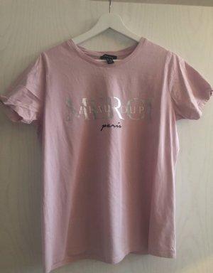 Rosa T-Shirt mit Print von New Look