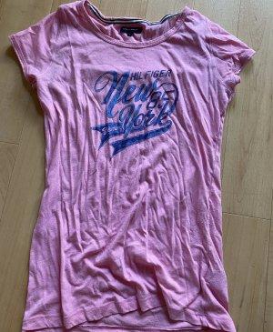 Tommy Hilfiger T-shirt rosa-blu fiordaliso