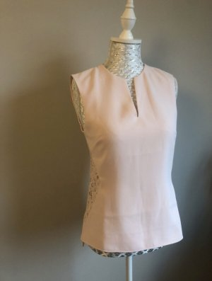 Rosa Ted Baker Bluse mit Spitze