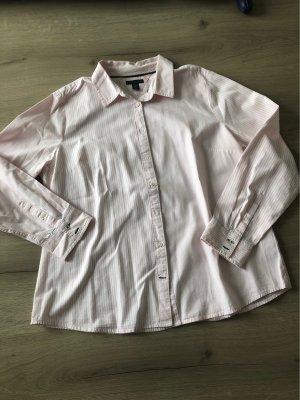 Rosa TH Bluse mit unterschiedlichen Streifen