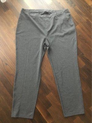 Pantalon strech gris foncé-gris anthracite tissu mixte