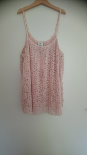 Karen by Simonsen Top de encaje rosa claro-rosa