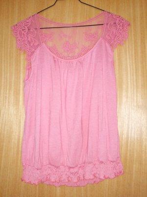 Cream Blusa rosa
